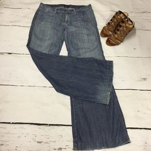 7 for All Mankind Wide Leg Jeans size 29
